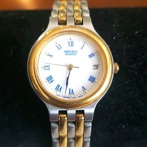 SEIKO Ladies Gold and Silver Watch